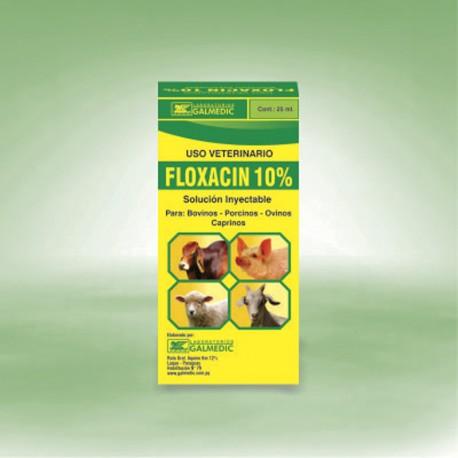 FLOXACIN 10% INYECTABLE